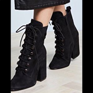 KENDALL+KYLIE lace up boots. NWOT